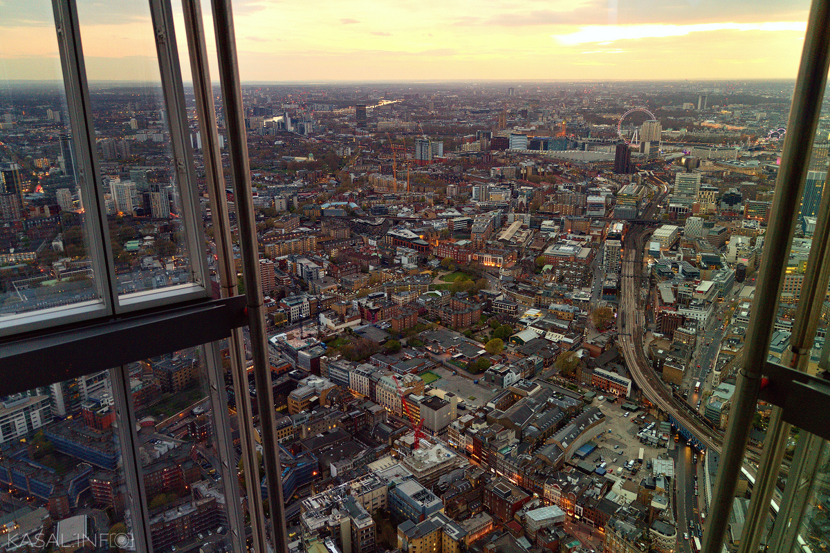 Above the London